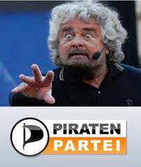 Grillo e Pirati: analogie e differenze