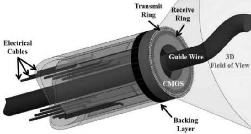 Microscale Ultrasound Systems for Minimally Invasive Intracardiac and Intravascular Imaging